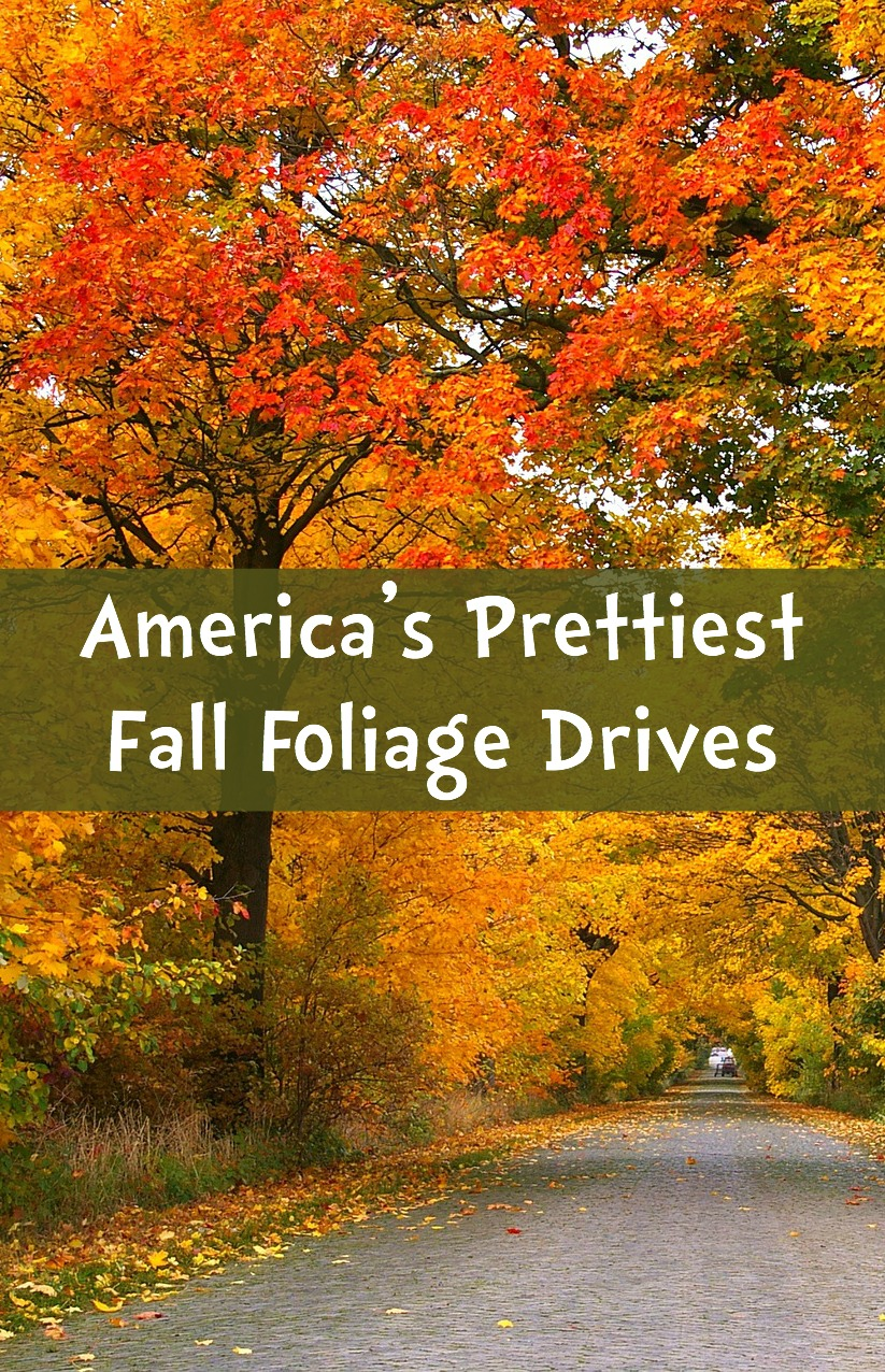 America's Prettiest Fall Foliage Drives
