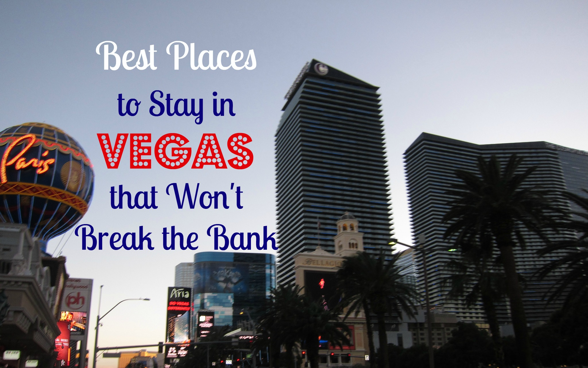 places to stay in las vegas