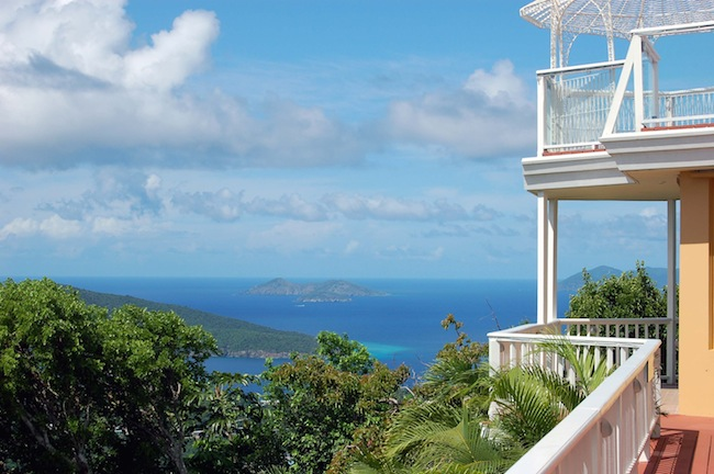 secluded US Virgin Islands