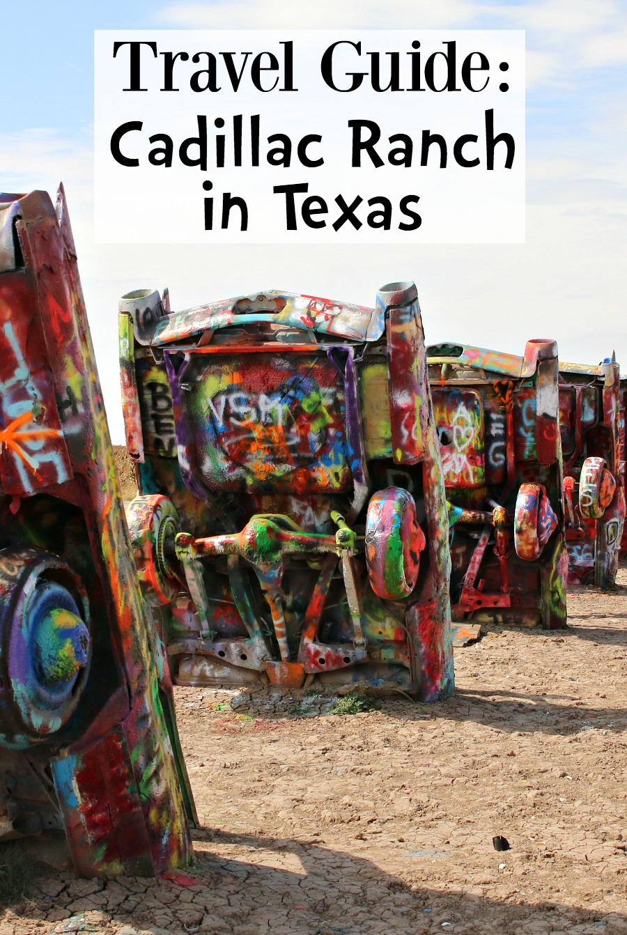 Travel Guide Cadillac Ranch in Texas