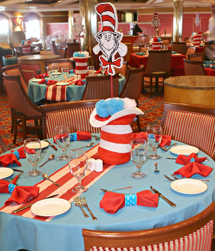Dr Seuss breakfast room decor