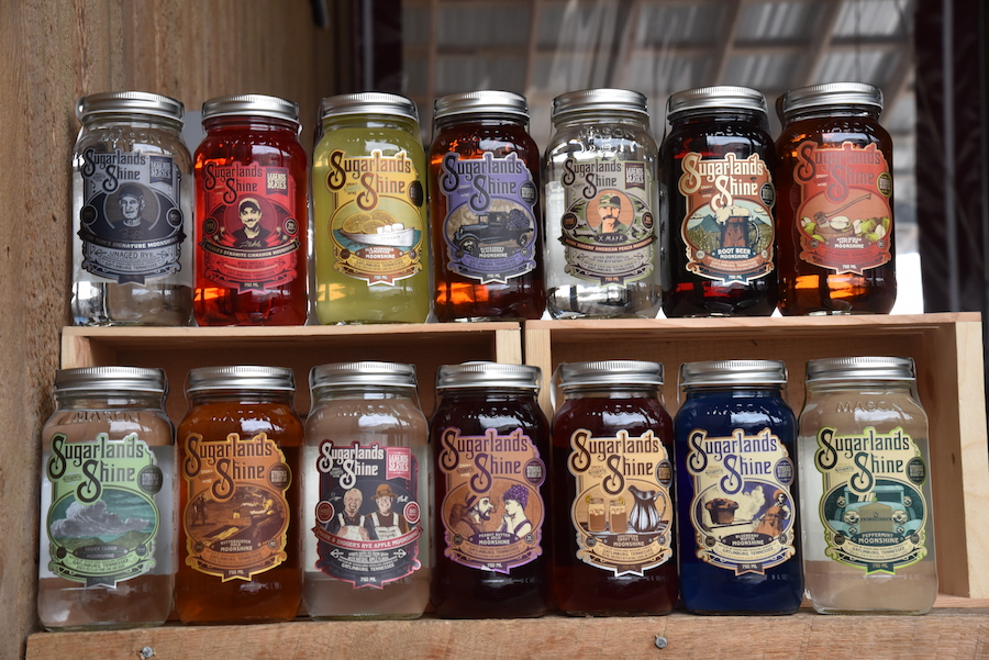 Moonshine Flavors