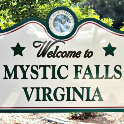 Tour of Mystic Falls and Saying Goodbye to The Vampire Diaries