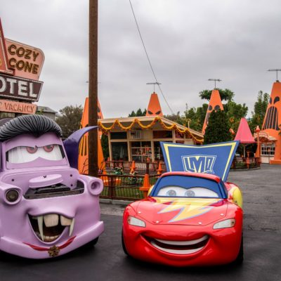 Haul-O-Ween at Cars Land