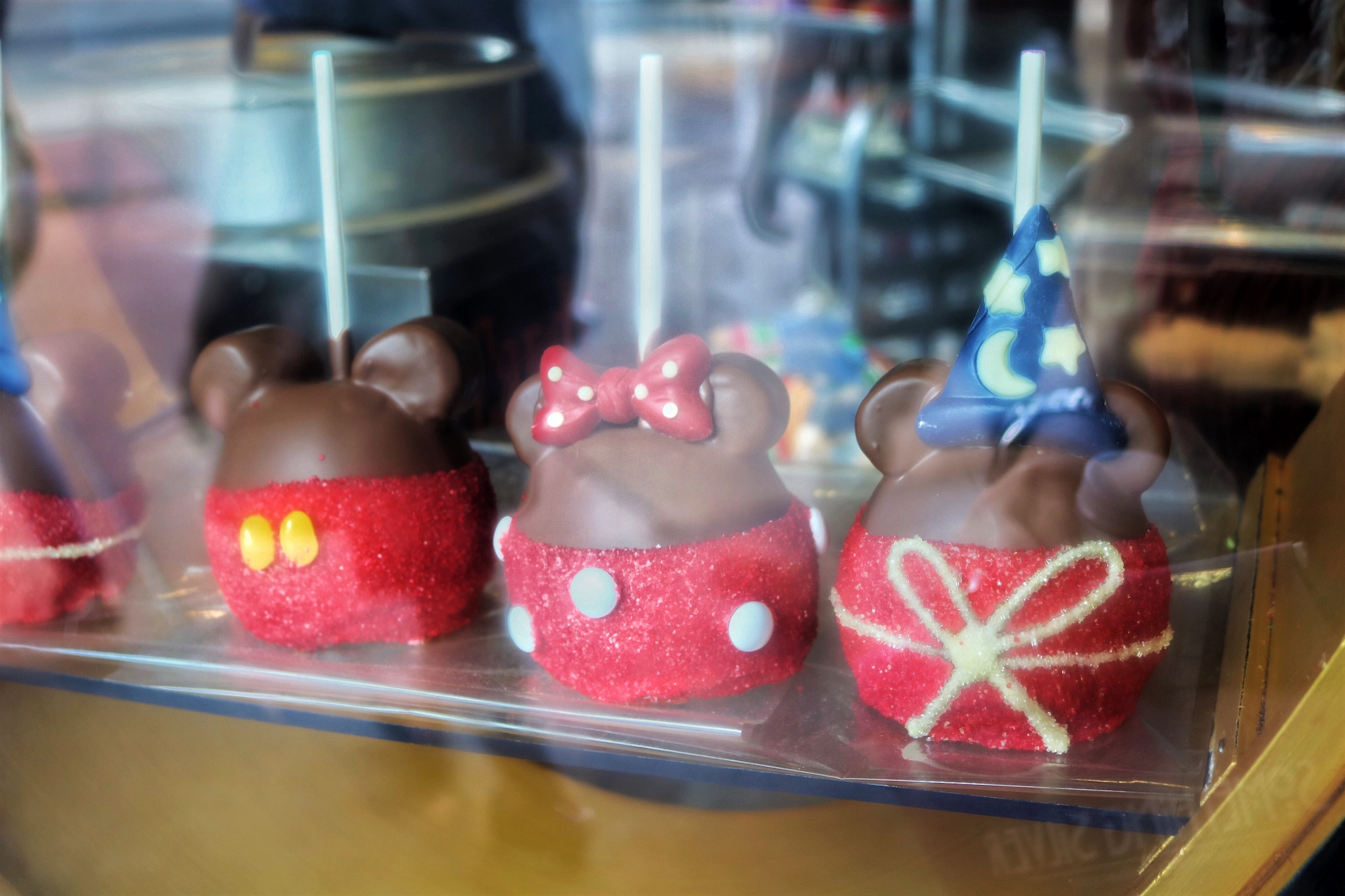 Mickey Mouse Candy Apples at Disney Springs