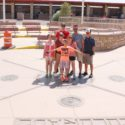 family photo standing in four states