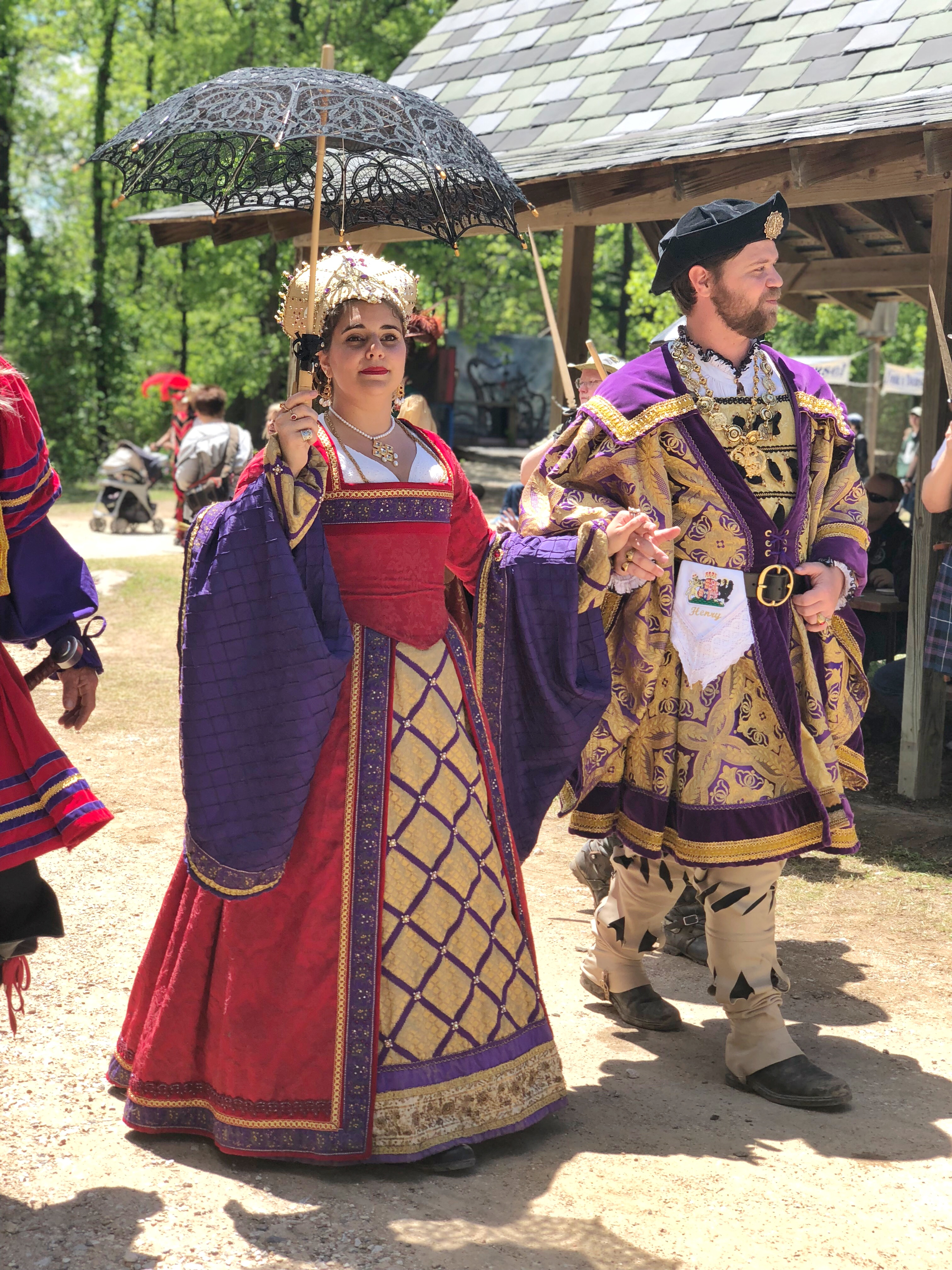 King and Queen of Scarborough Fair
