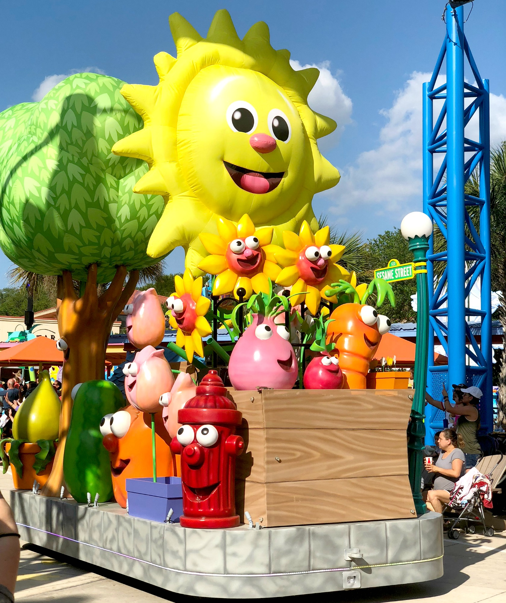 how to get to Sesame Street float