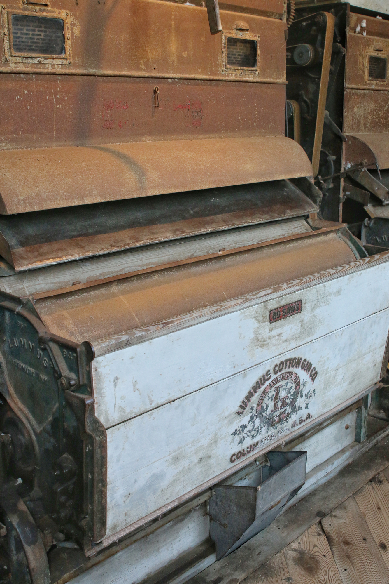see how the cotton gin process works