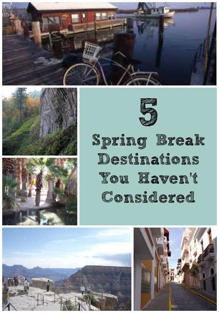 5 spring break destinations