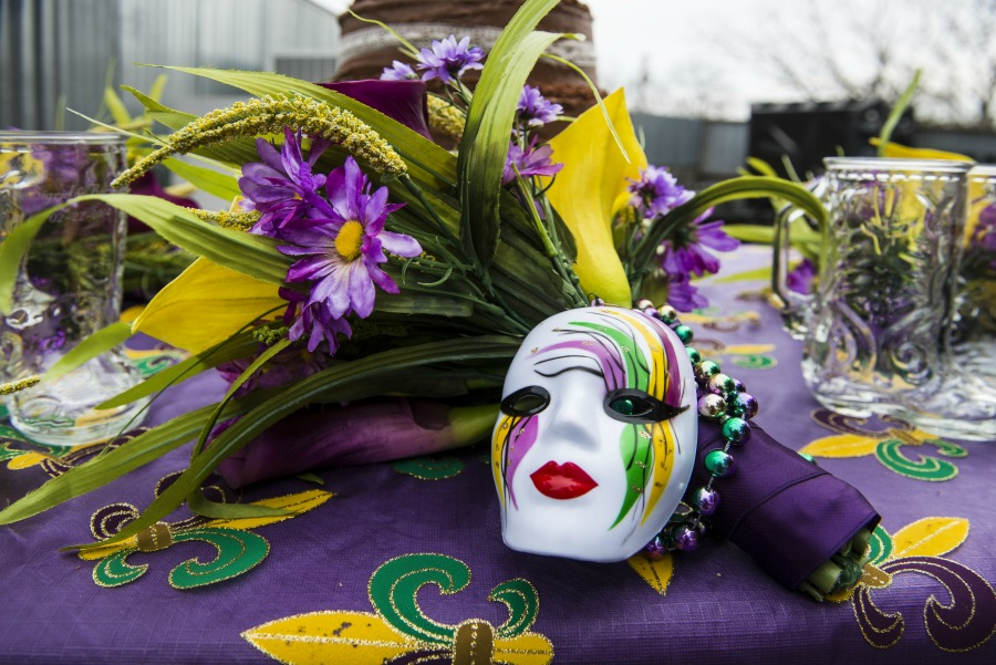 Mardi Gras Colors