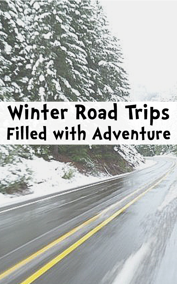 Winter Road Trips Filled With Adventure