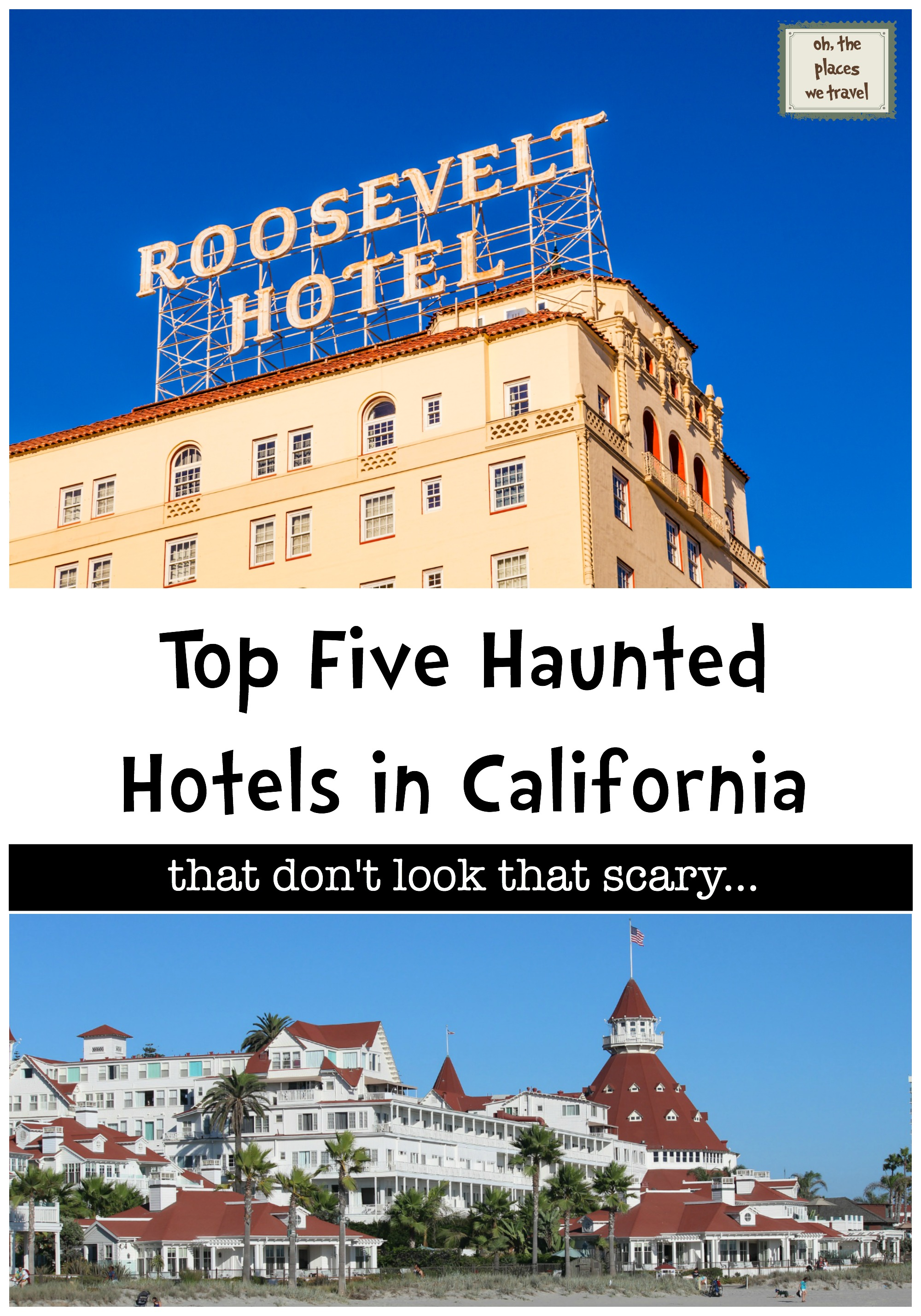 Top Five Haunted Hotels in California-2
