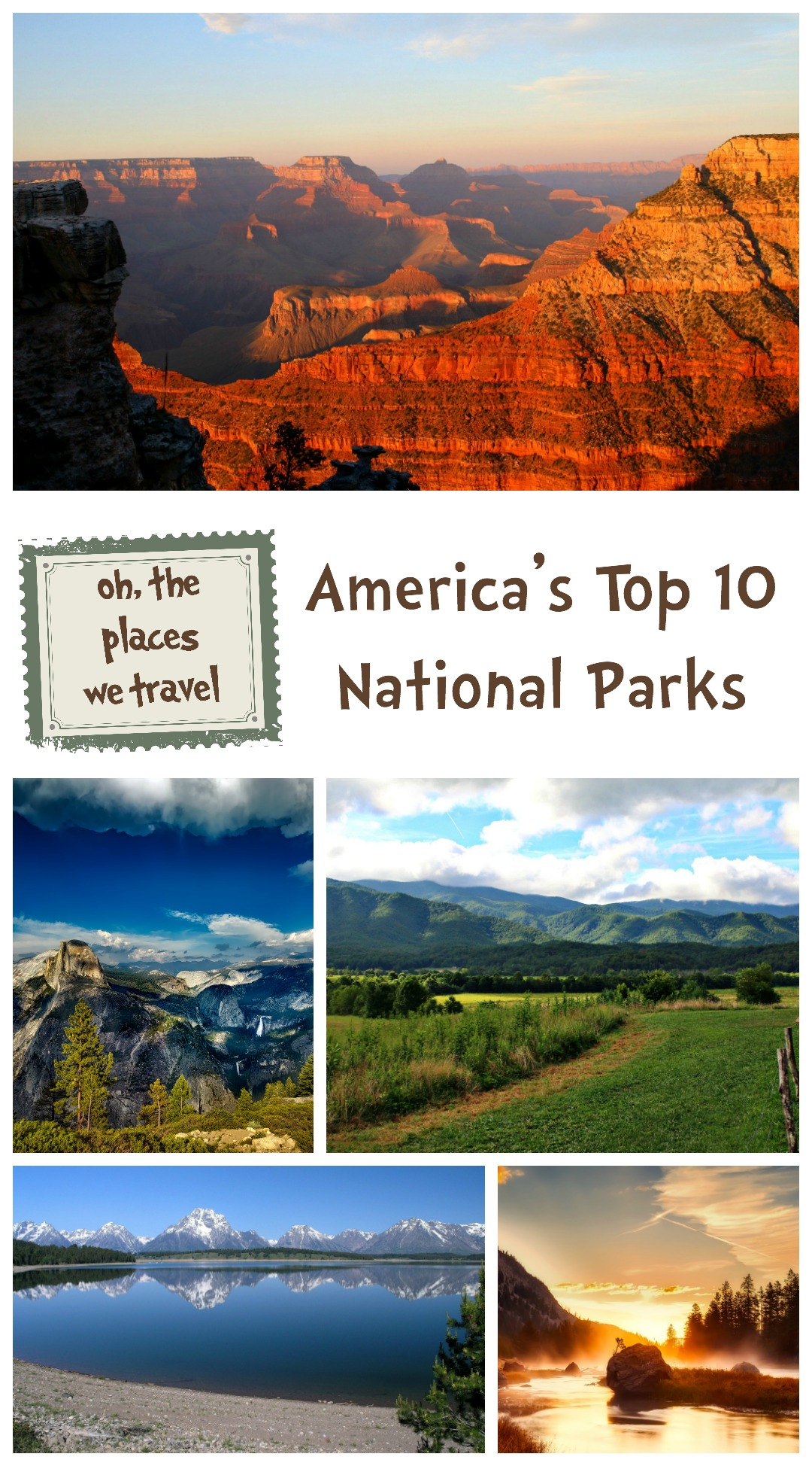 America's Top 10 National Parks