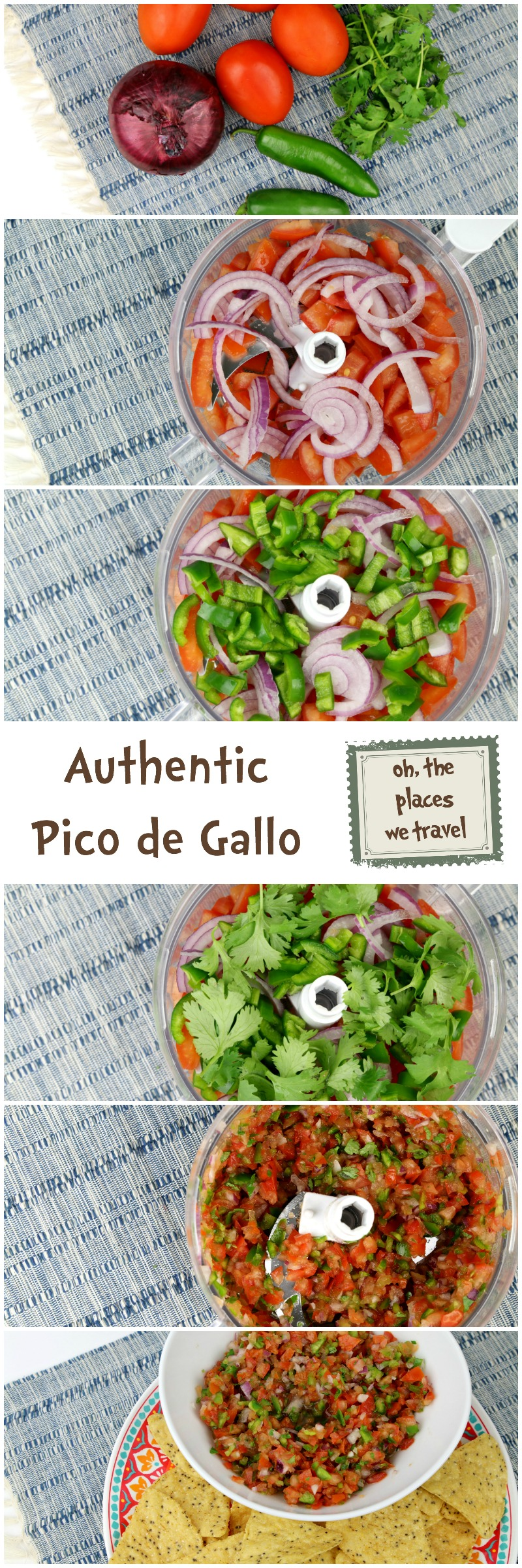 Authentic Pico de Gallo Recipe Pin