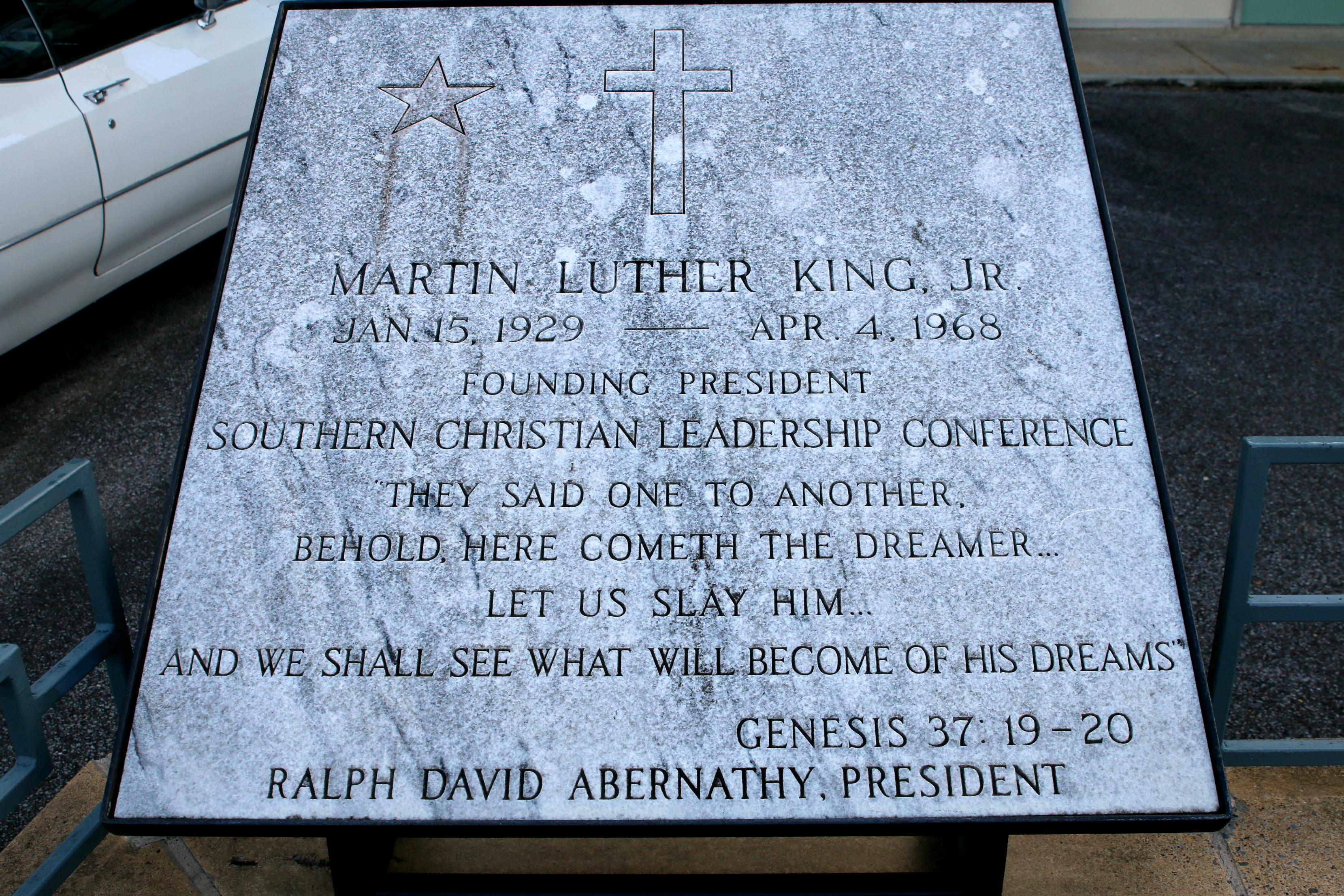 Martin Luther King Plaque