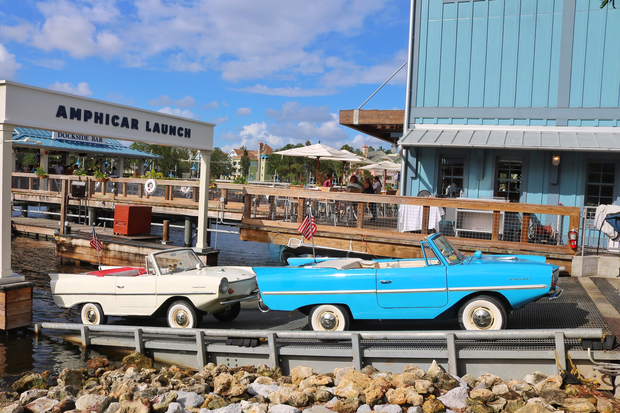 ride Amphicar at Disney Springs