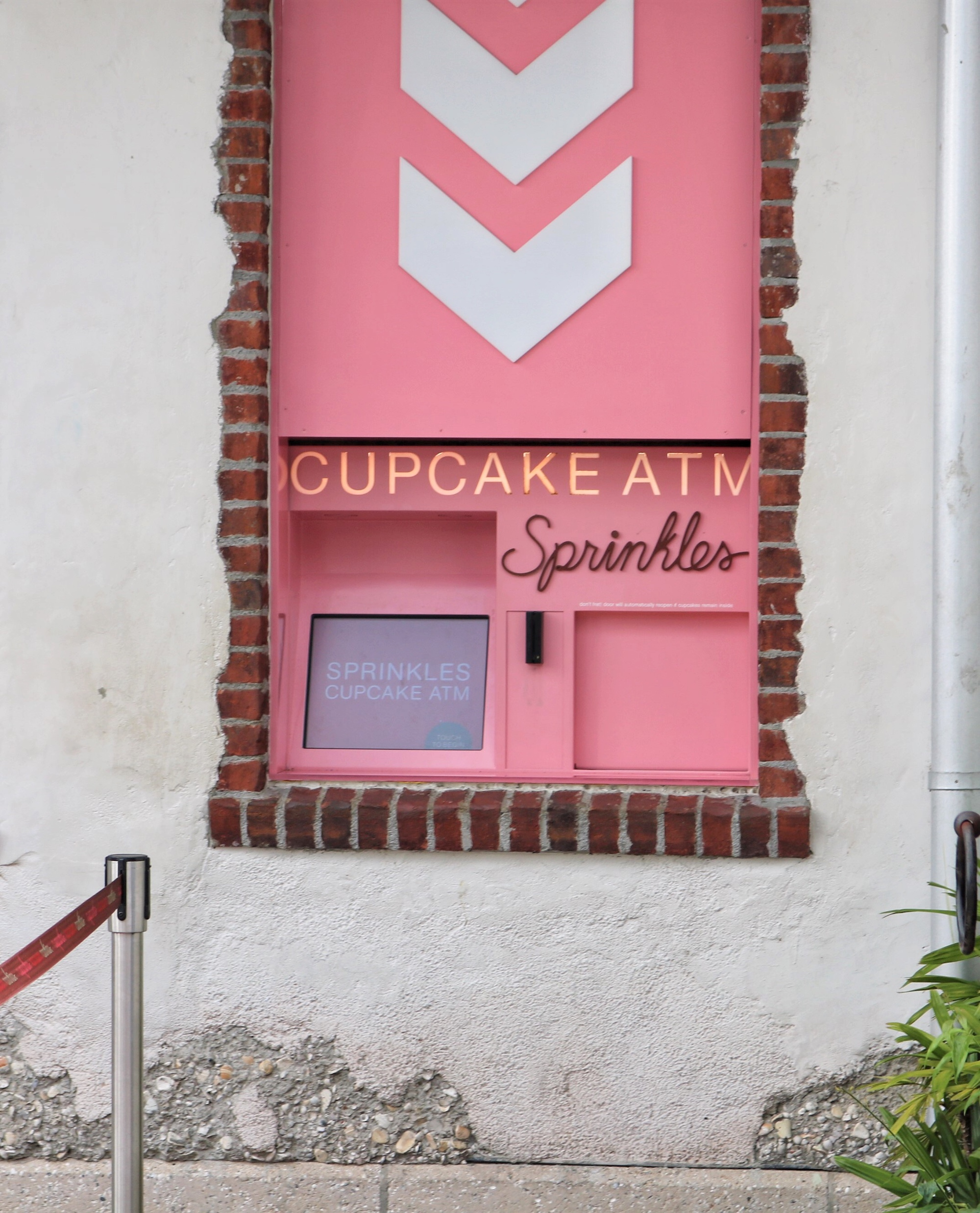 Sprinkles Cupcakes ATM at Disney Springs