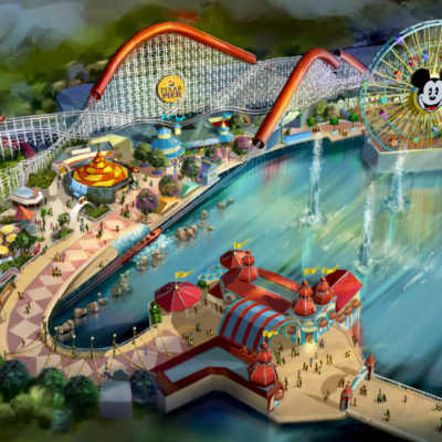 Pixar Pier Opens in Summer 2018 with New Incredicoaster