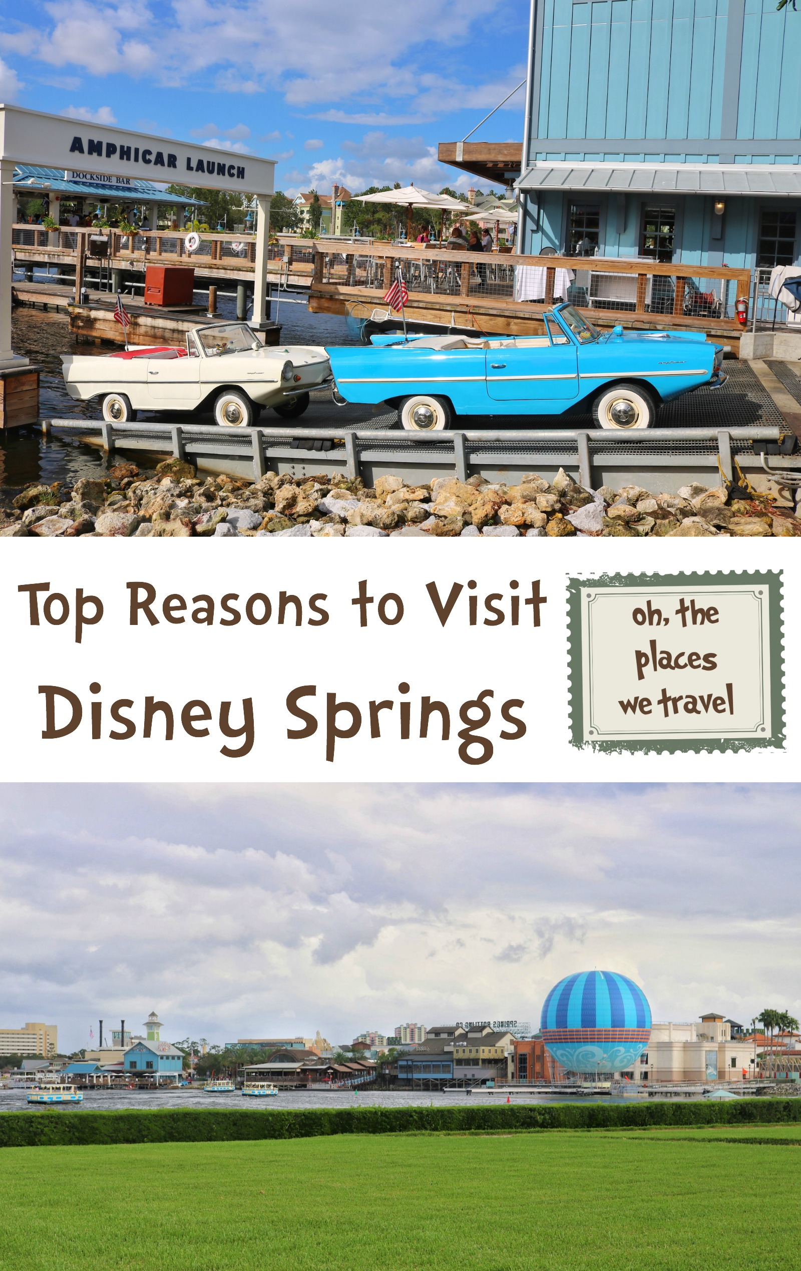 Top Reasons to Visit Disney Springs