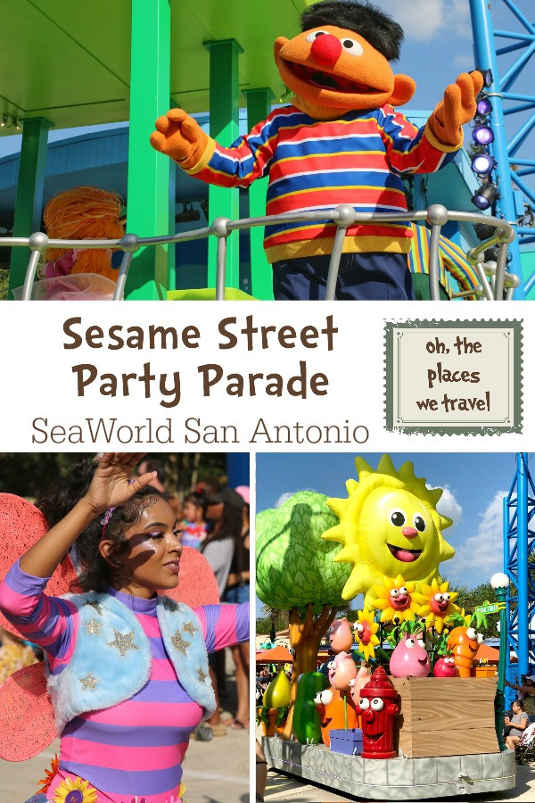 Sesame Street Party Parade