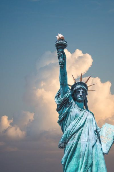 visit the statue of liberty