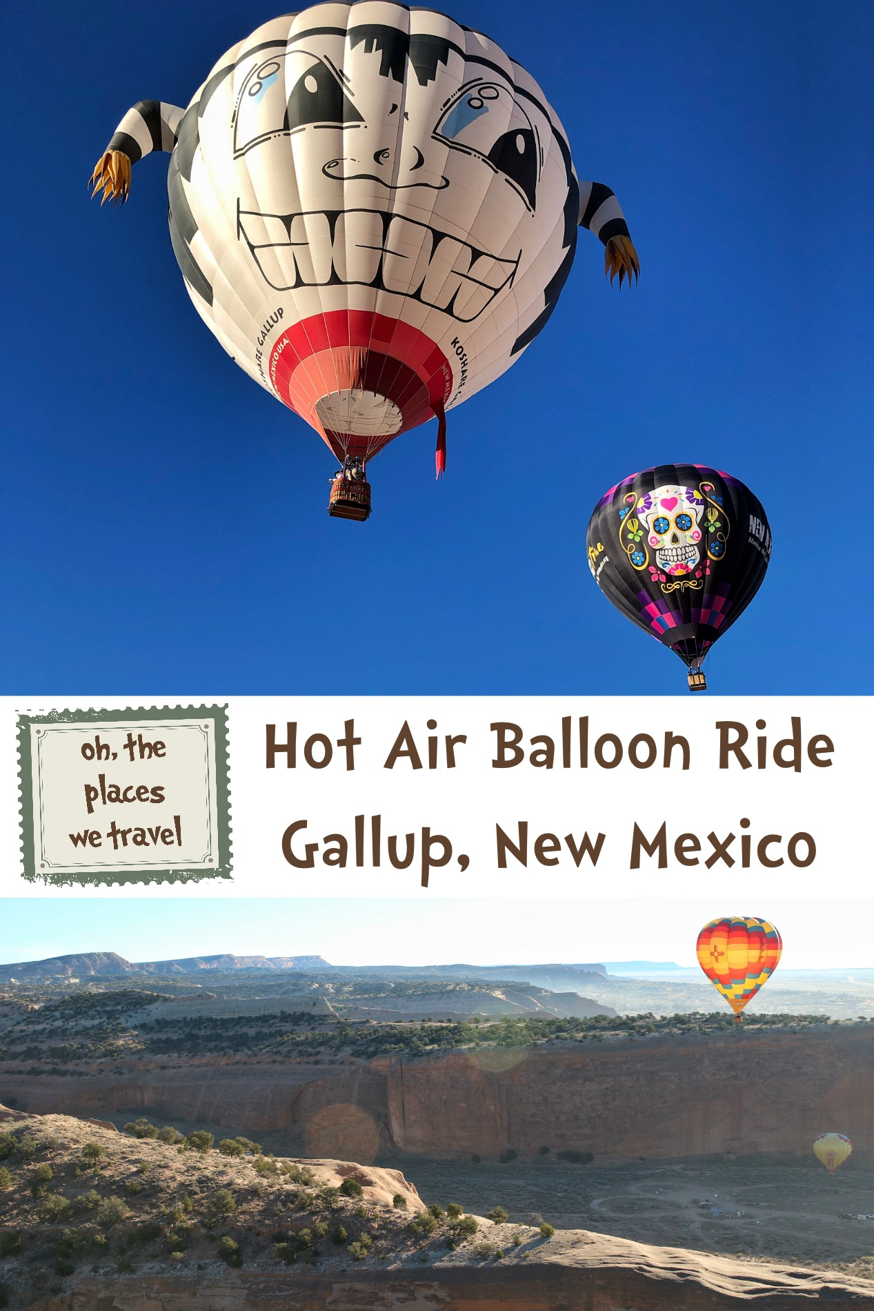 Hot Air Balloon Ride Gallup New Mexico