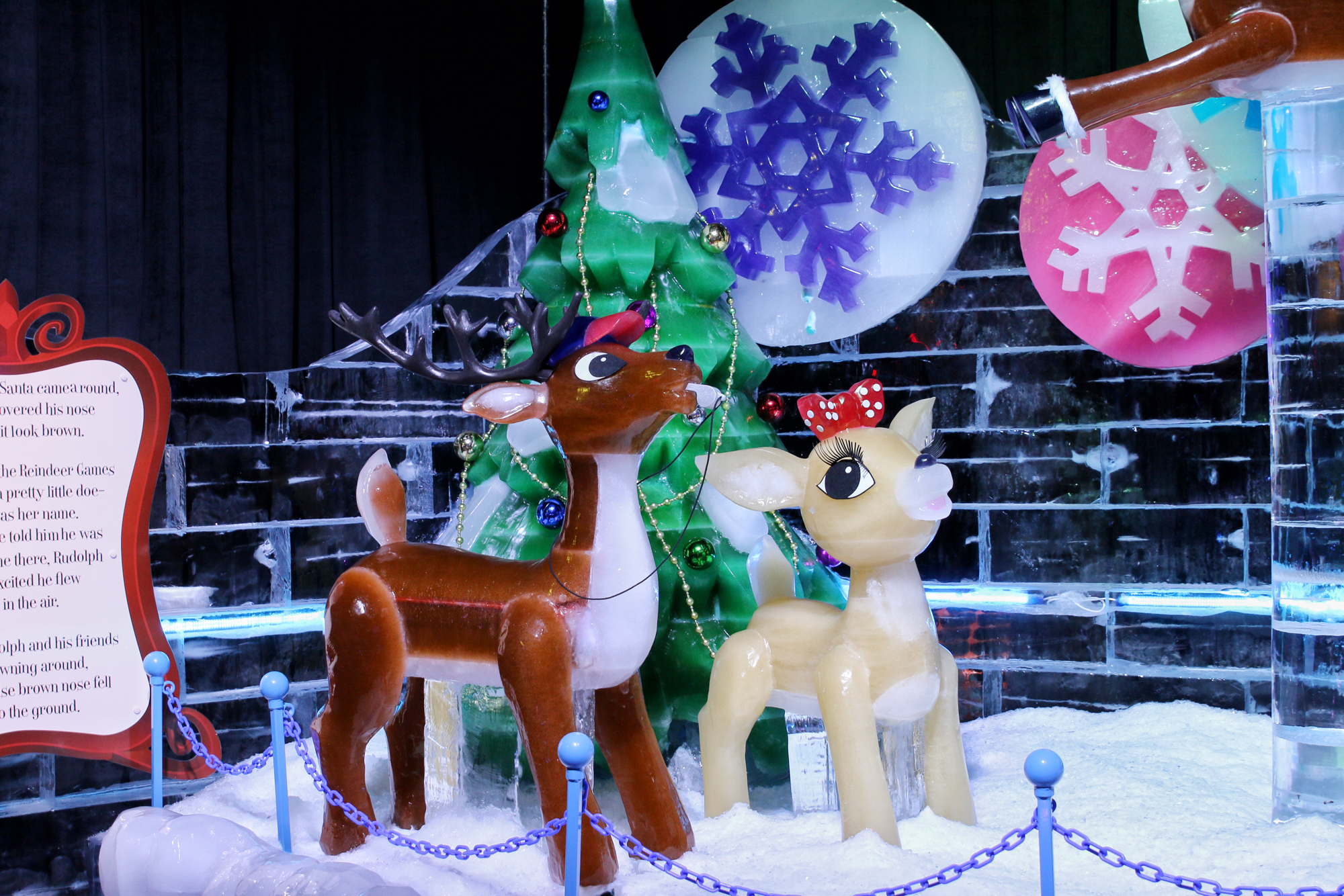 ice sculptures at gaylord