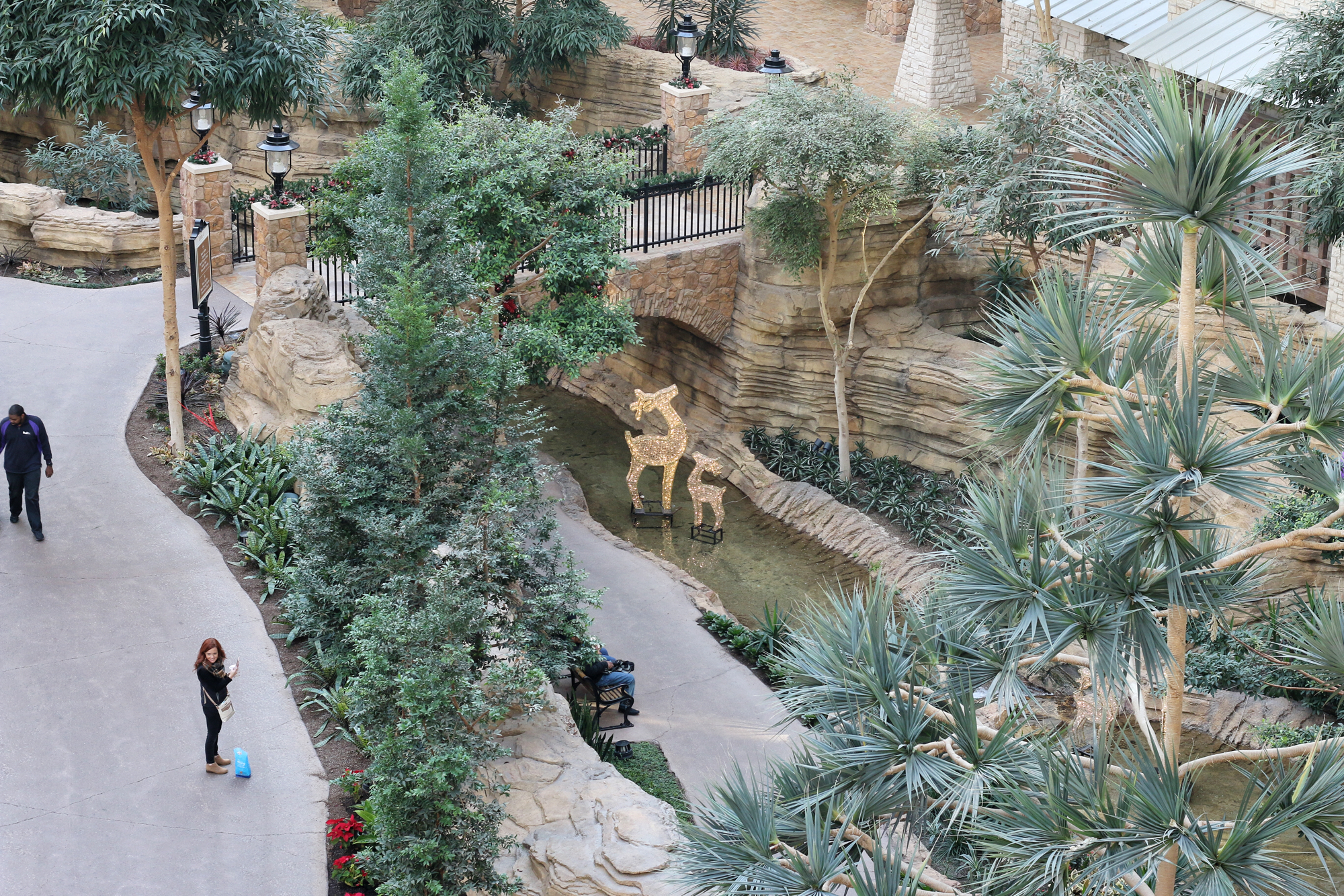 riverwalk inside gaylord texan