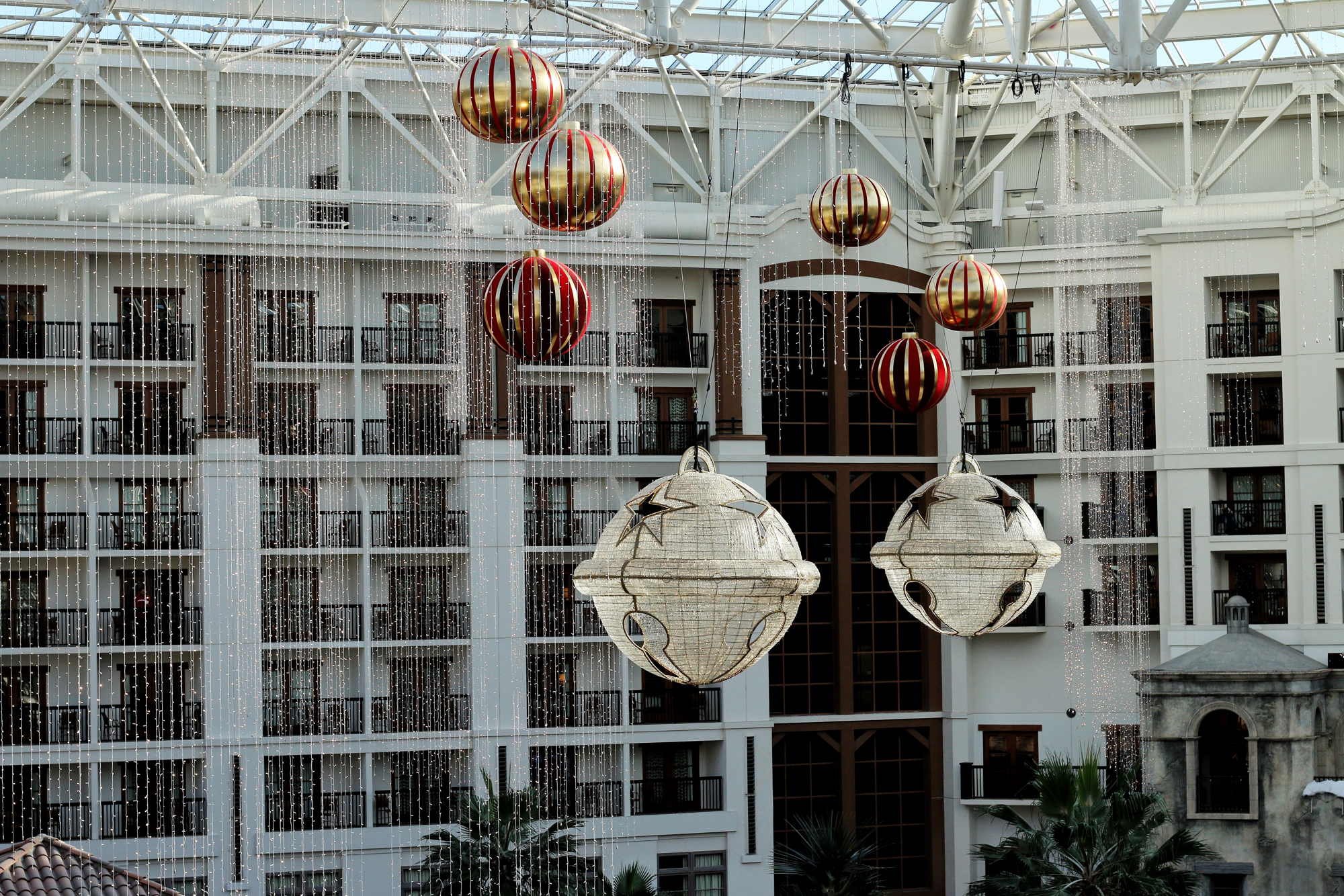 Christmas decor at Gaylord