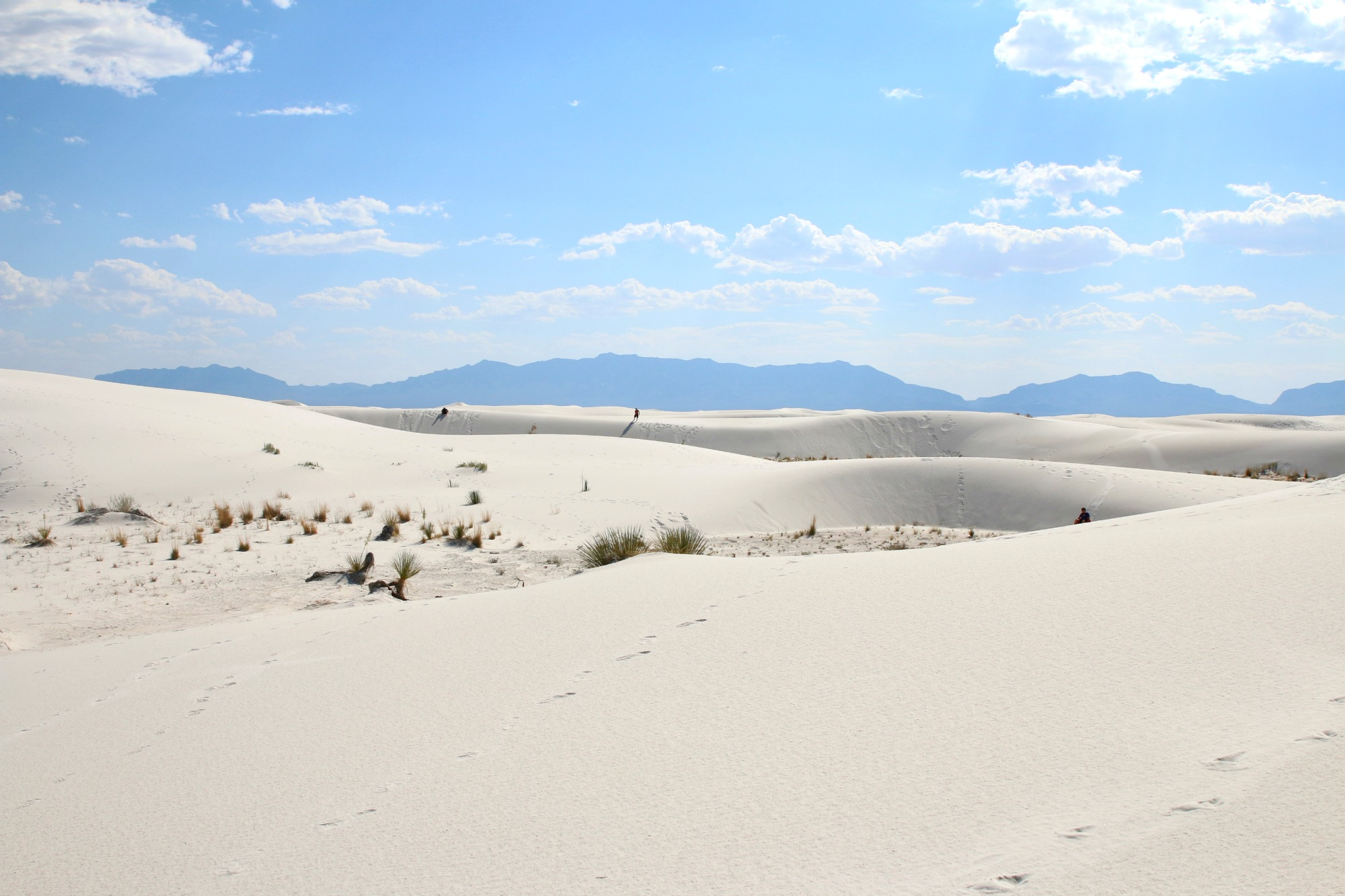 White Sands National Monument - Early Morning