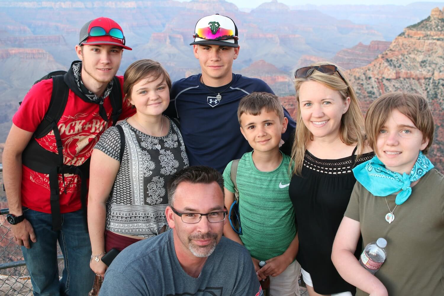 Family Trip to Grand Canyon