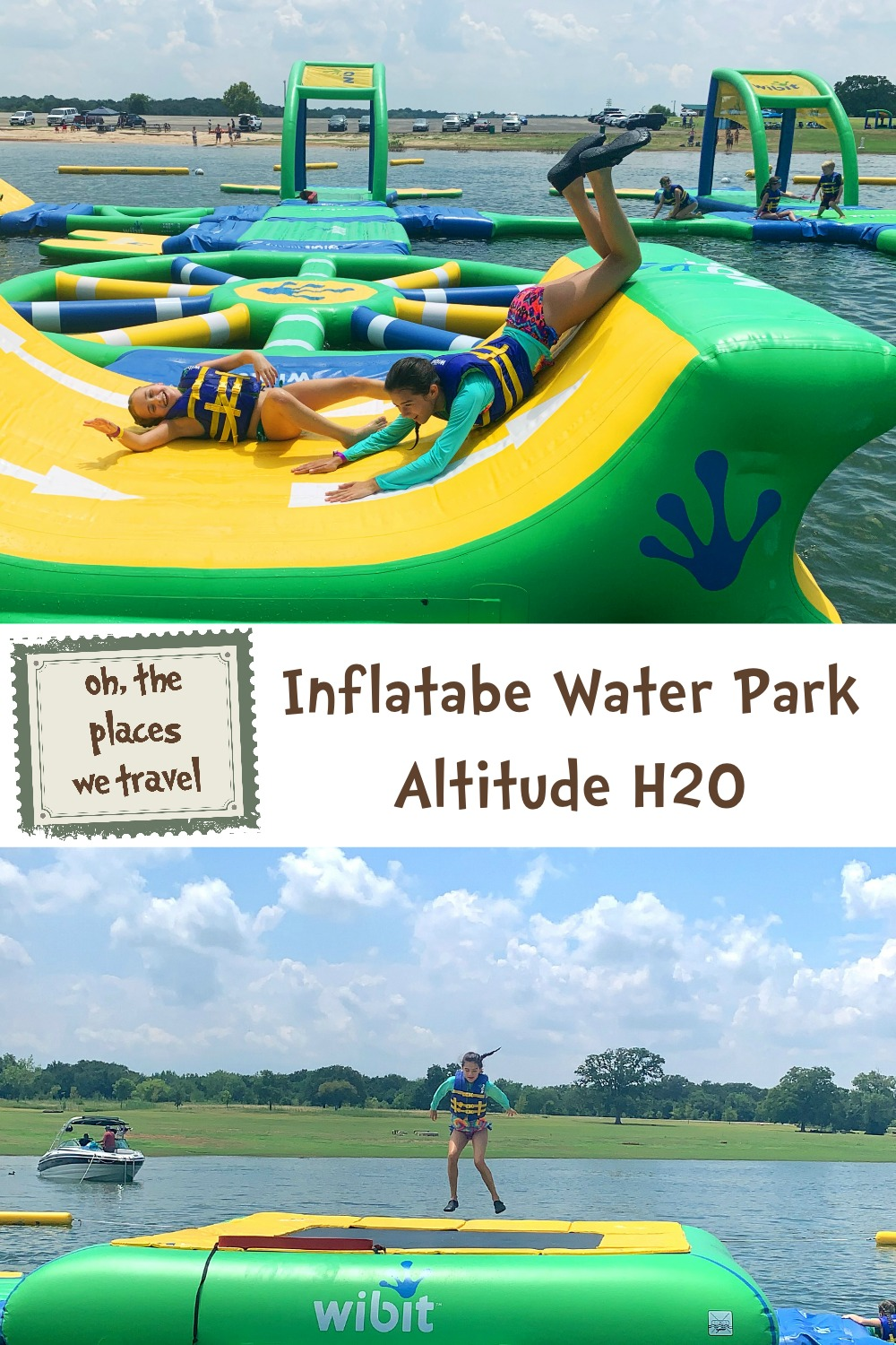 Inflatable Water Park Altitude H2O