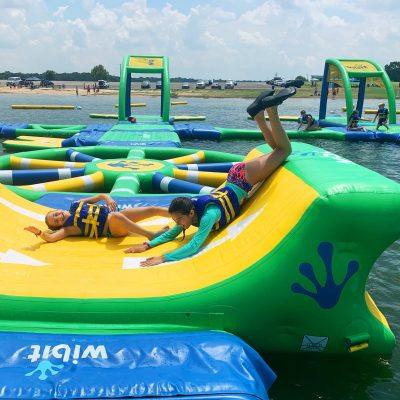 Inflatable Water Park – Altitude H2O at Grapevine Lake
